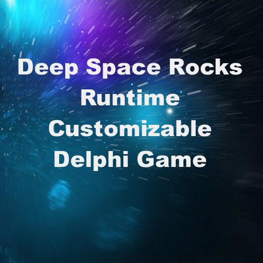 Deep Space Rocks Runtime Customizable Mobile Arcade Game For Delphi 10.2 Tokyo